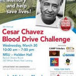 Chavez Blood Drive MSU 2016